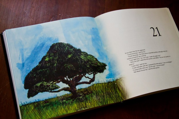 christopher l martin book design of the little print ball point pen and water color illustrations